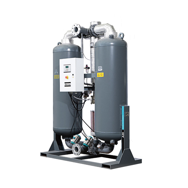 Desiccant air dryers  C & A desiccant air dryers
