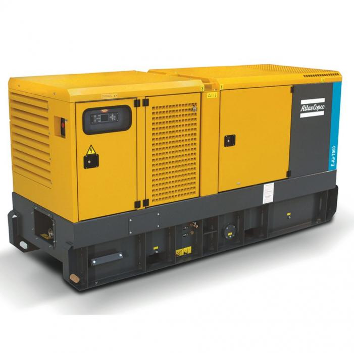 Electric portable compressor 25 m³/min / 900 cfm